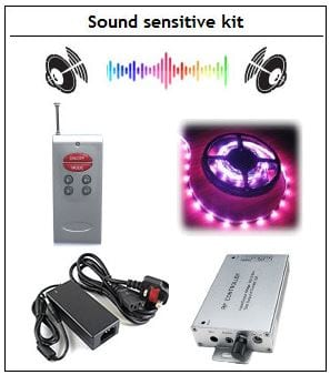 Sound sensitive kit