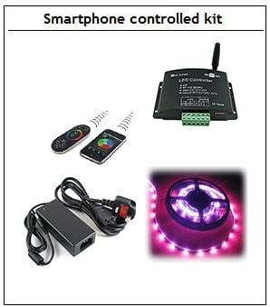 WiFi controlled kit