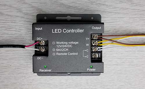 CCT controller connections
